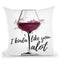 Wine Lover Throw Pillow By Alison Gordon
