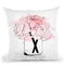 X Bouquet Ap62 Throw Pillow By Alison Gordon