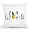 Aloha Throw Pillow By Alison Gordon