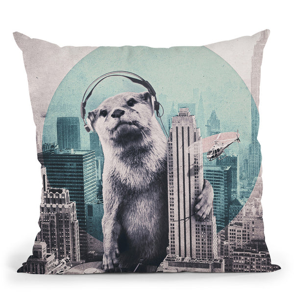 Dj Tap Throw Pillow By Ali Gulec