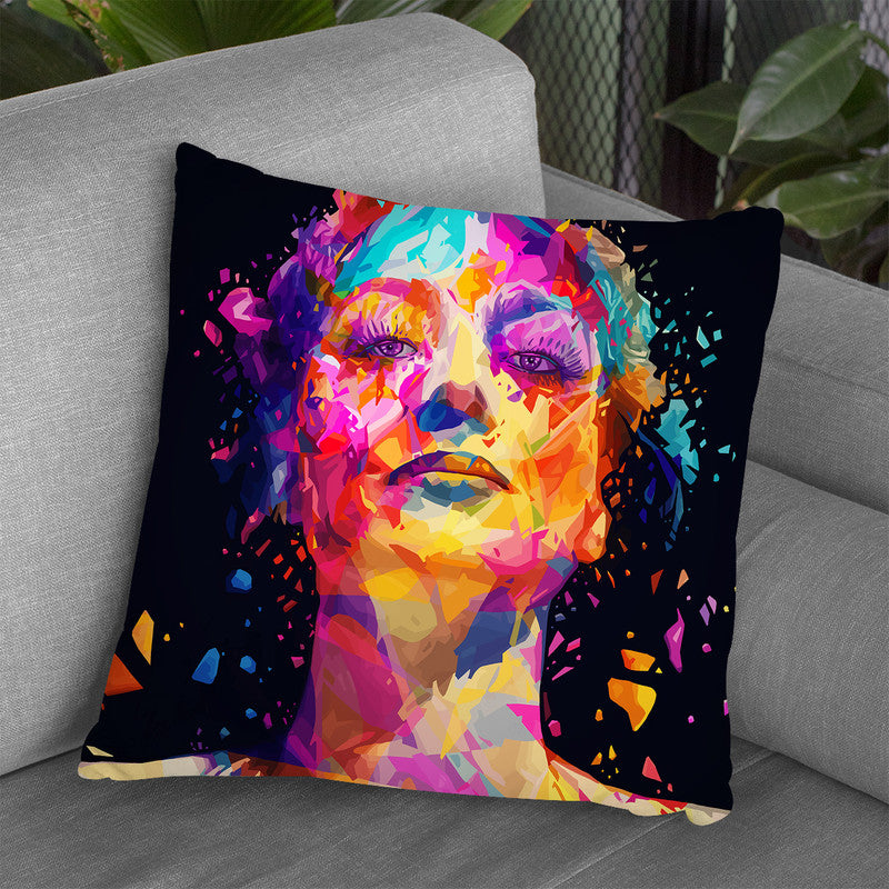 Joan  Throw Pillow By Alessandro Pautasso