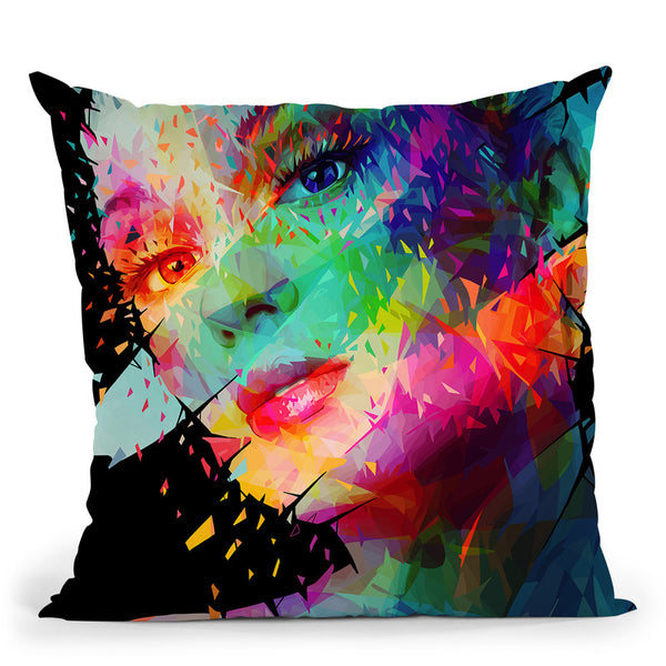 Paint  Throw Pillow By Alessandro Pautasso