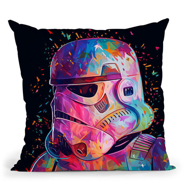 Soldier Throw Pillow By Alessandro Pautasso