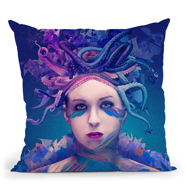 Queen  Throw Pillow By Alessandro Pautasso