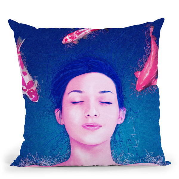 Science Of Sleep  Throw Pillow By Alessandro Pautasso