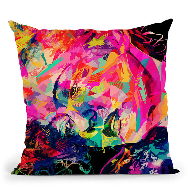 Bette  Throw Pillow By Alessandro Pautasso