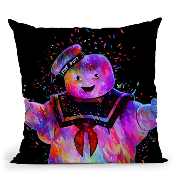Stay-Puft Throw Pillow By Alessandro Pautasso