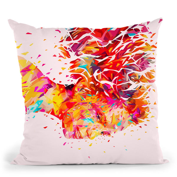 Wind  Throw Pillow By Alessandro Pautasso