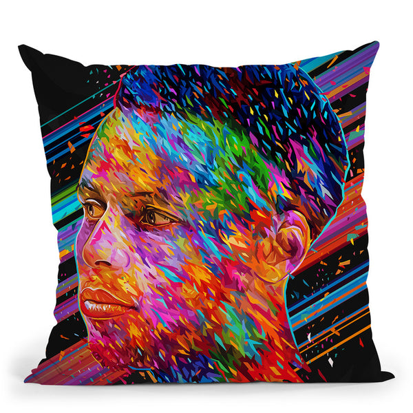 Stephen Curry Throw Pillow By Alessandro Pautasso