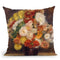 Bouquet Of Chrysanthemums Throw Pillow By Auguste Renoir