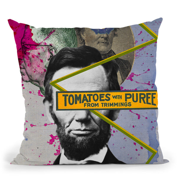 Lincoln Throw Pillow By Elo Marc - All About Vibe