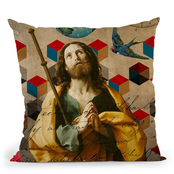 The Alchemist Throw Pillow By Elo Marc - All About Vibe