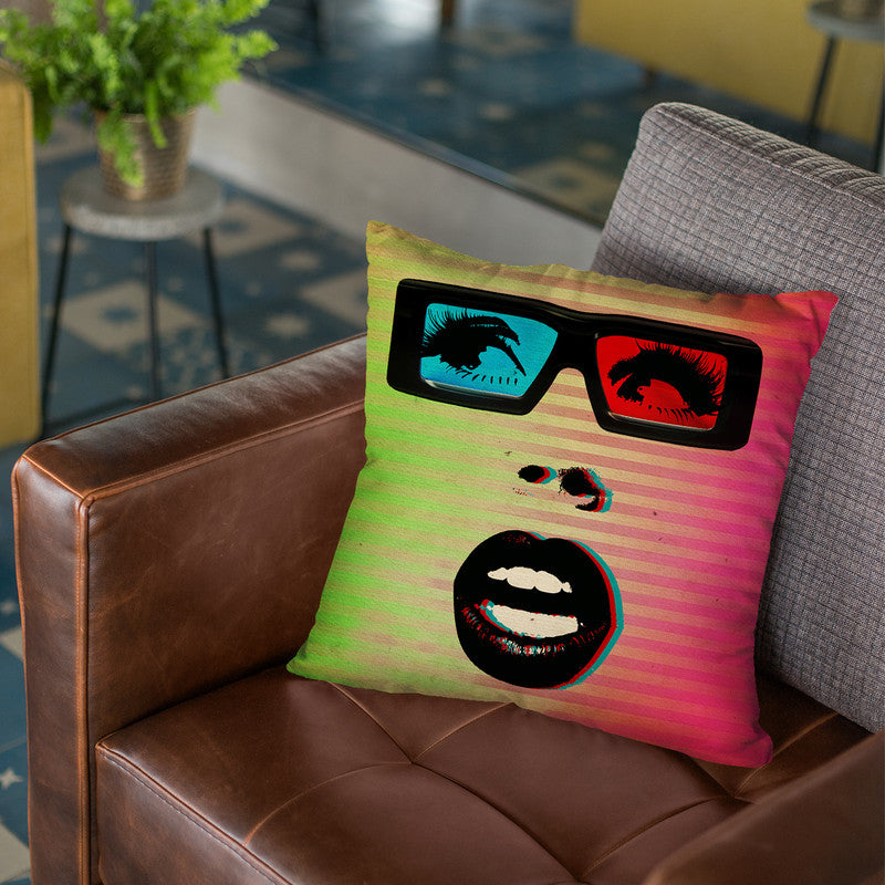3D Throw Pillow By Elo Marc - All About Vibe