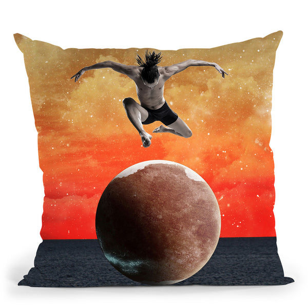 Infinity Throw Pillow By Elo Marc - All About Vibe