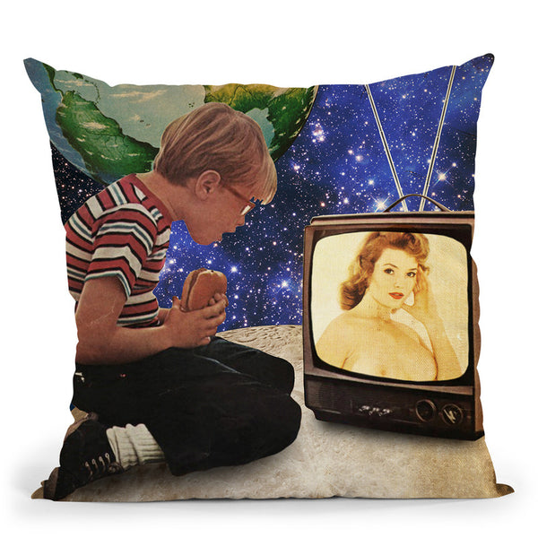 Xposed Throw Pillow By Elo Marc - All About Vibe