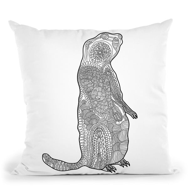 Groundhog Throw Pillow By Bob Weer - All About Vibe