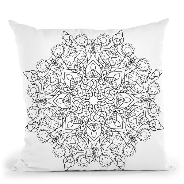 Line Art Iv Throw Pillow By Bob Weer - All About Vibe