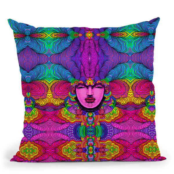 Venus 316 A Throw Pillow By Howie Green - All About Vibe
