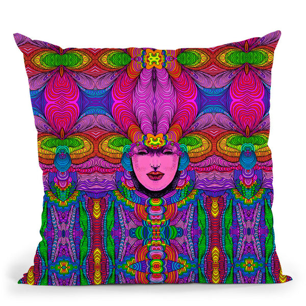 Venus 316 B Throw Pillow By Howie Green - All About Vibe