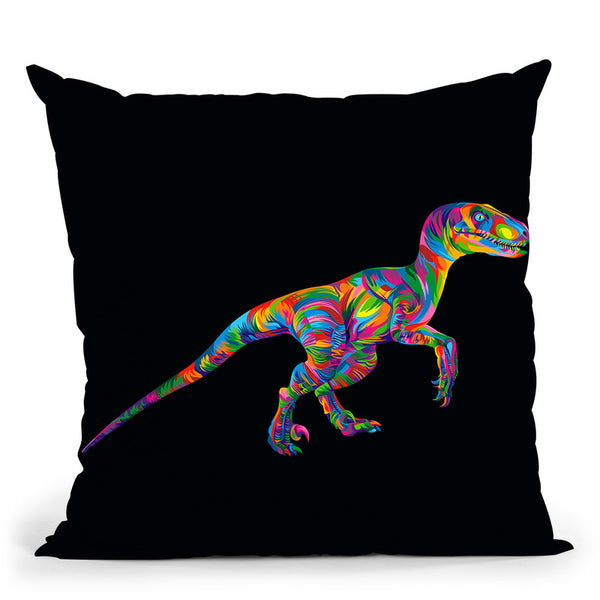 Raptor Throw Pillow By Bob Weer - All About Vibe