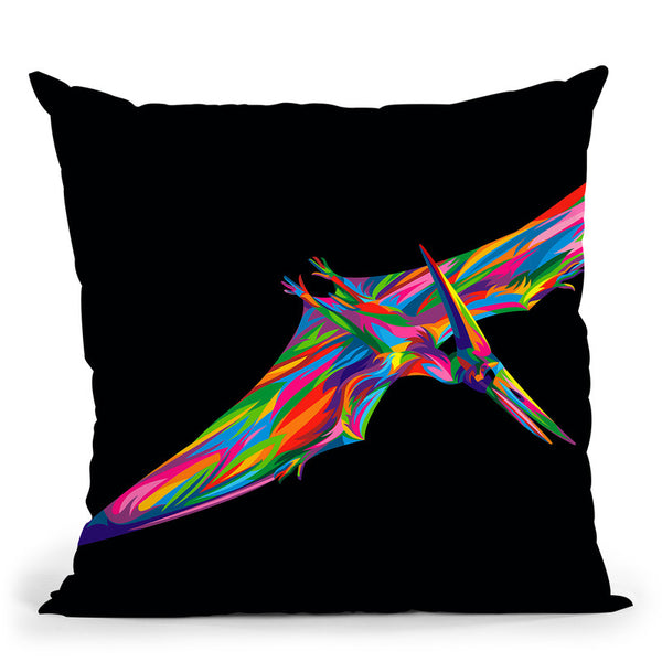 Pterodactyl Throw Pillow By Bob Weer - All About Vibe