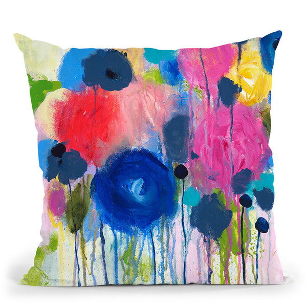 Aimez Beaucoup Throw Pillow By Carrie Schmitt - All About Vibe
