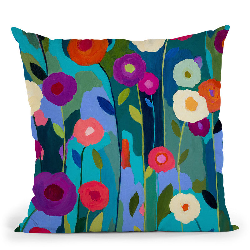 Good Morning, Sunshine Throw Pillow By Carrie Schmitt - All About Vibe