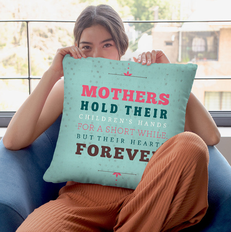 Forever Mothers Throw Pillow By American Flat - All About Vibe