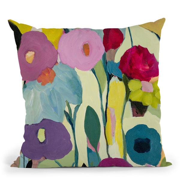 Rising Toward The Sun Throw Pillow By Carrie Schmitt