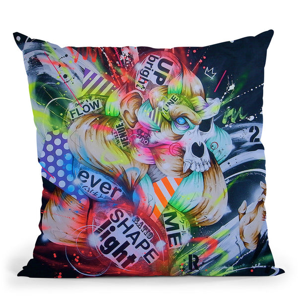 Metamorphose Throw Pillow By Taka Sudo - All About Vibe