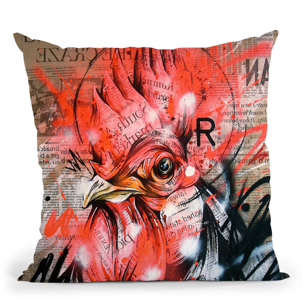 Wake Throw Pillow By Taka Sudo - All About Vibe