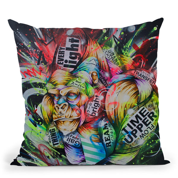 Where The Night Falls Throw Pillow By Taka Sudo - All About Vibe