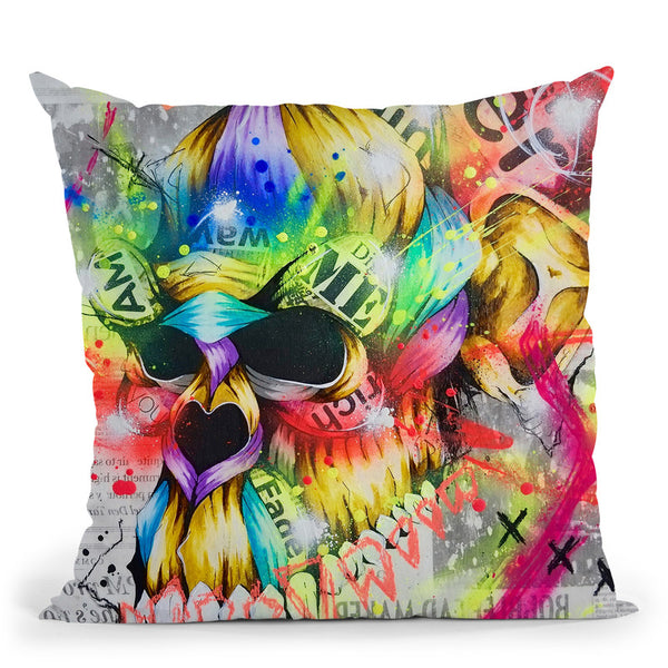 Fall 3 Throw Pillow By Taka Sudo - All About Vibe