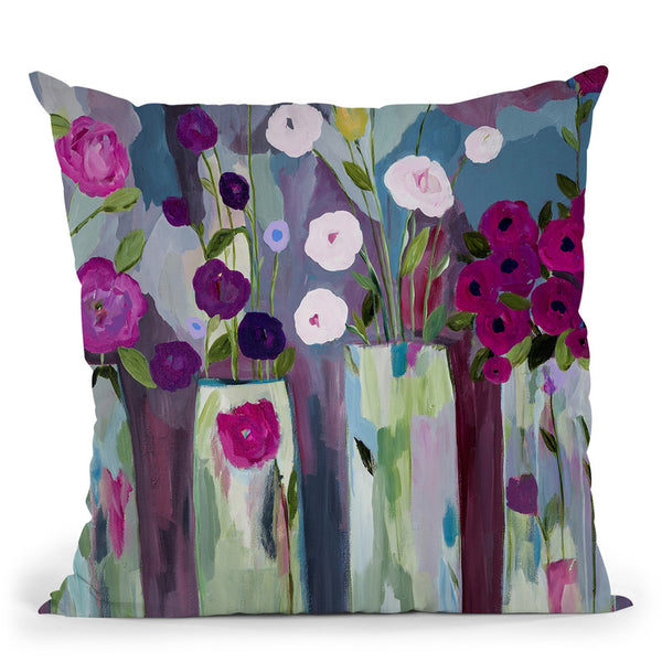 Que Sera Sera Throw Pillow By Carrie Schmitt - All About Vibe