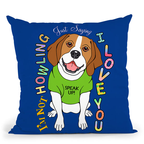 Beagle Graphic Style Throw Pillow By Tomoyo Pitcher - All About Vibe