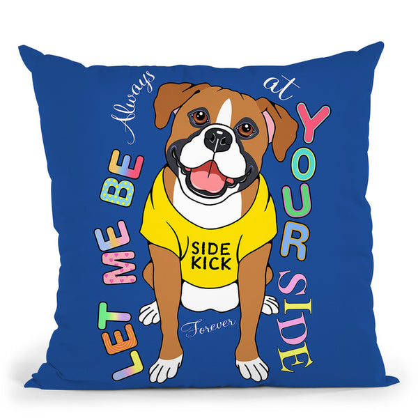 Boxer Graphic Style Throw Pillow By Tomoyo Pitcher - All About Vibe