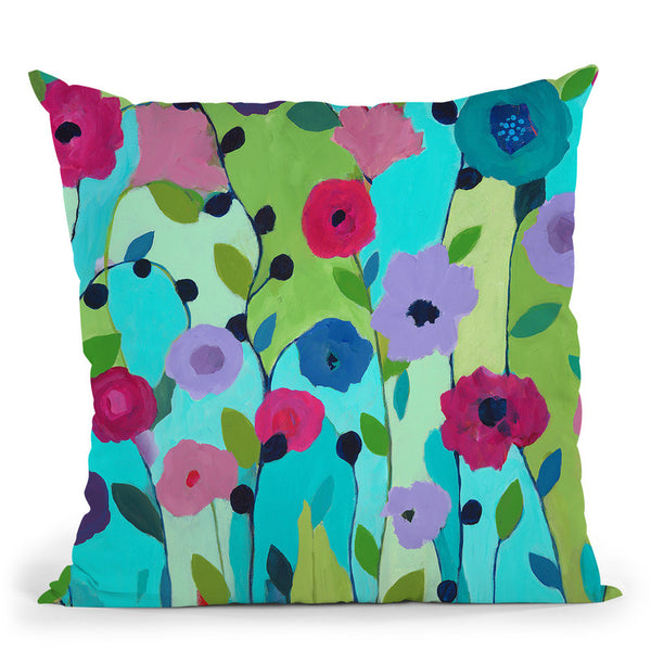 Spring Returns Throw Pillow By Carrie Schmitt - All About Vibe