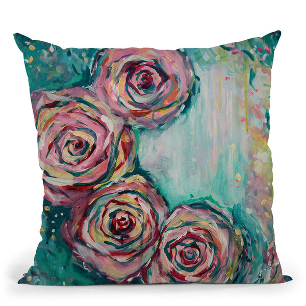 Confetti Throw Pillow By Emily Heard - All About Vibe