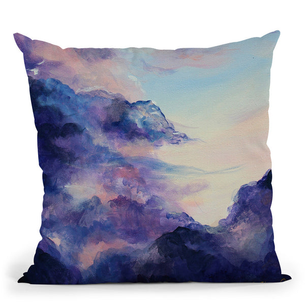 Drift Throw Pillow By Emily Heard - All About Vibe