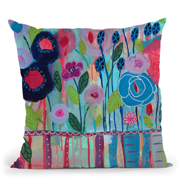 Cultivate Joy Throw Pillow By Carrie Schmitt - All About Vibe