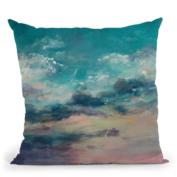 Head In The Clouds Throw Pillow By Emily Heard - All About Vibe