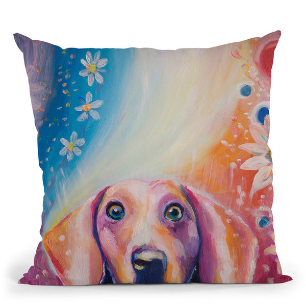 Hello My Friend Throw Pillow By Emily Heard - All About Vibe