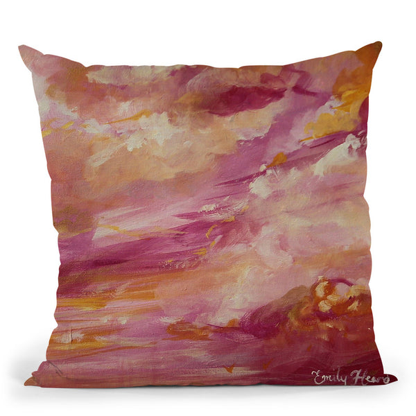 Infatuation Throw Pillow By Emily Heard - All About Vibe