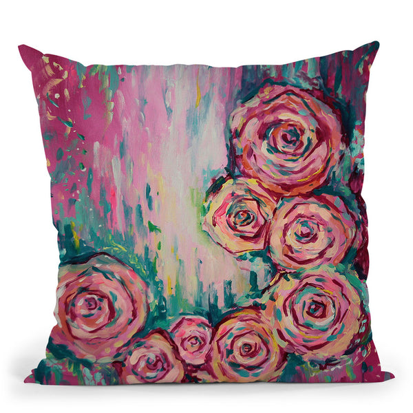 Irridescent Throw Pillow By Emily Heard - All About Vibe
