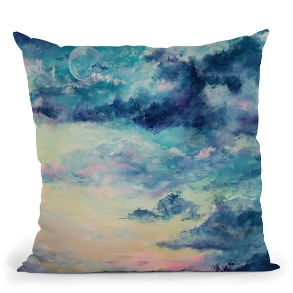 Lunar Throw Pillow By Emily Heard - All About Vibe