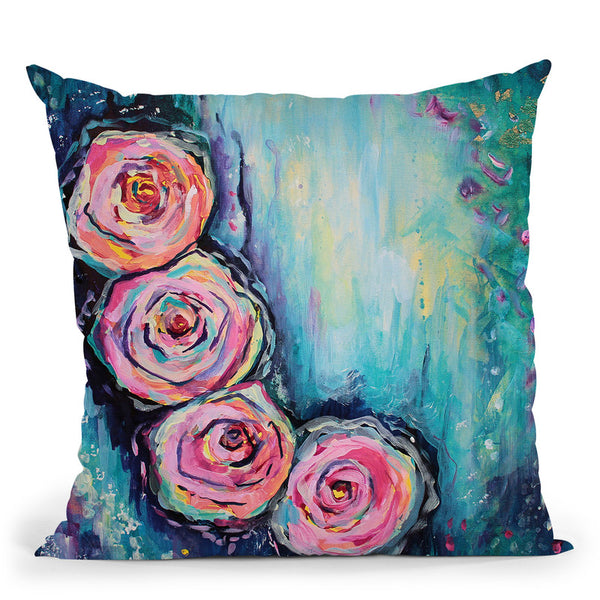 Nebula Throw Pillow By Emily Heard - All About Vibe
