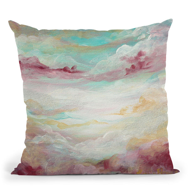 Nimbus Throw Pillow By Emily Heard - All About Vibe