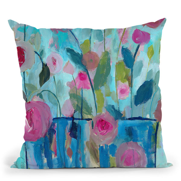 Falling For You Throw Pillow By Carrie Schmitt - All About Vibe