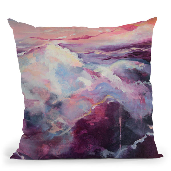 Resonance Throw Pillow By Emily Heard - All About Vibe