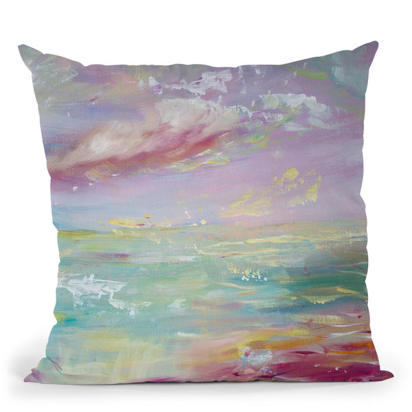 Serene Throw Pillow By Emily Heard - All About Vibe